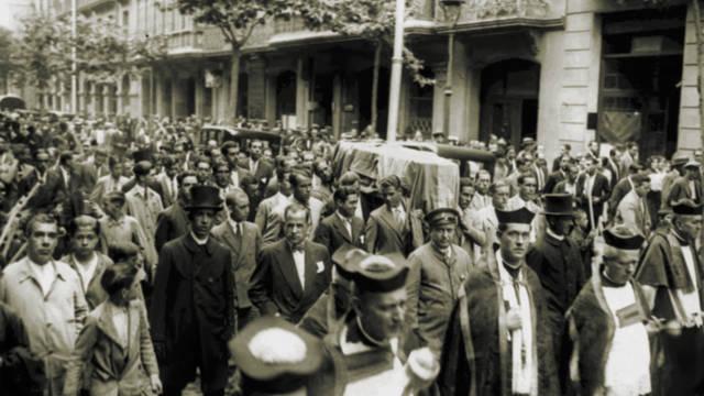 Joan Gamper's funeral
