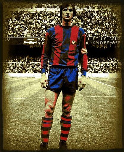 Barcelona w sepii: Johan Cruyff