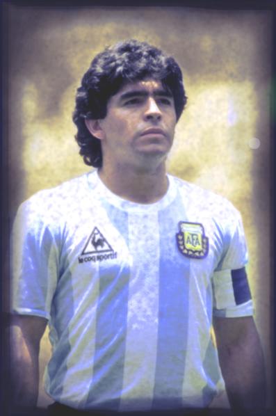 Barcelona w sepii: Diego Armando Maradona