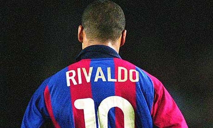 Barcelona w sepii: Rivaldo