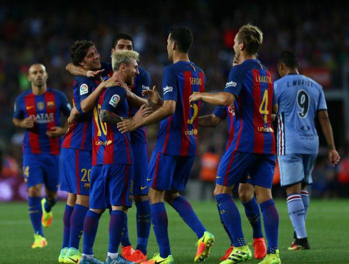 Barça pokonuje Sampdorię 3:2