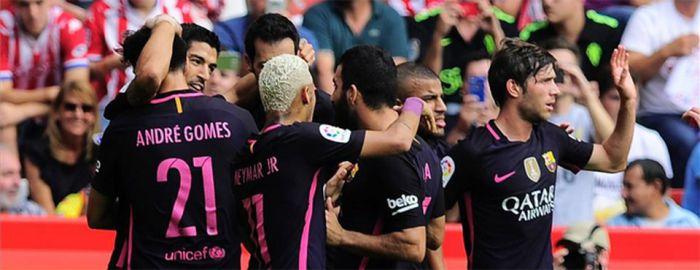 Sporting Gijón rozstrzelany