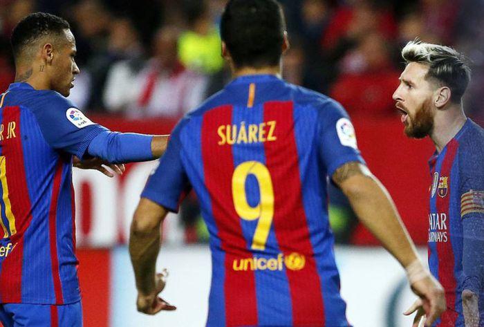 Odmieniona Barça wyszarpuje zwycięstwo w Sewilli