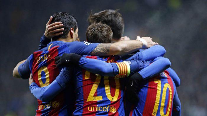 Barcelona kwalifikuje się do fazy pucharowej Ligi Mistrzów