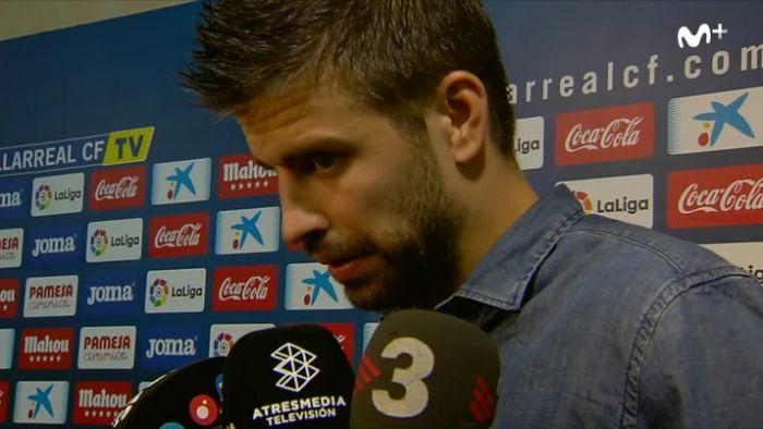 Piqué:Co tydzień dostaję więcej argumentów na to, co powiedziałemkilka dni temu
