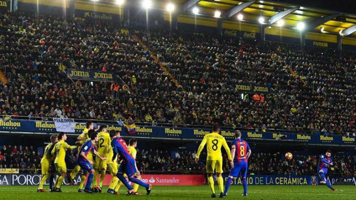 Oceny za mecz z Villarrealem