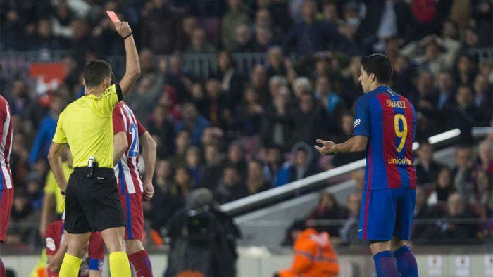 Komisja Apelacyjna podtrzymuje żółtą kartkę dla Luisa Suáreza