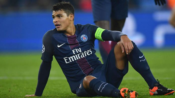 L'Equipe: Thiago Silva nie zagrał z Barçą z powodu problemów mentalnych