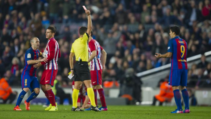 Barça odwoła się do TAS-u w sprawie żółtej kartki Suáreza