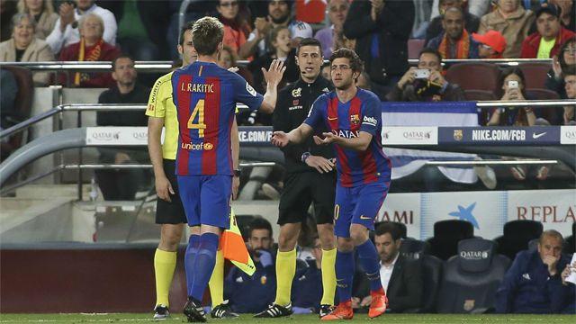 Bohater remontady powrócił na Camp Nou