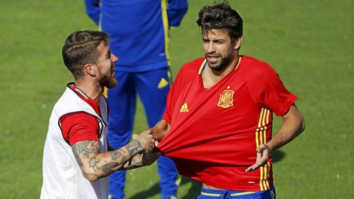 Ramos: Razem z Piqué lubimy sobie podogryzać