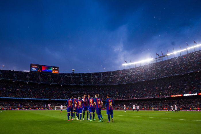 Sevilla rozbita na Camp Nou