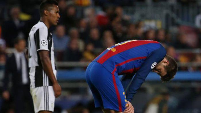 Piqué i ter Stegen w idealnej jedenastce kolejki w Lidze Mistrzów