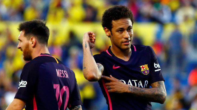Pierwszy hat-trick Neymara na wyjeździe