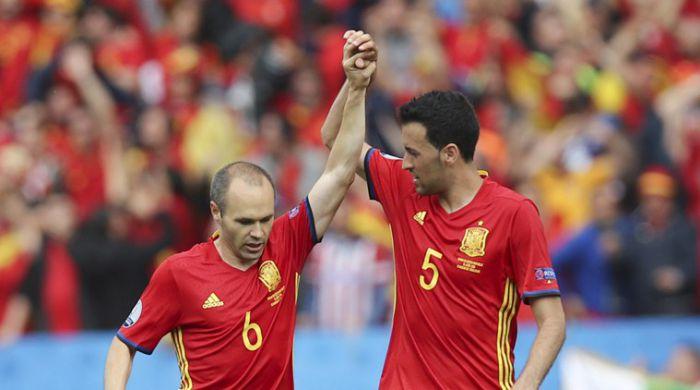 Pięciu piłkarzy Barçy powołanych do reprezentacji Hiszpanii