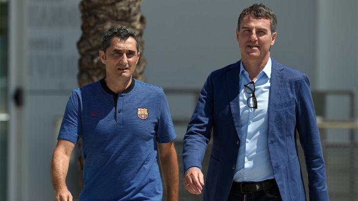 Valverde: Nie myślę o transferach, skupiam się na piłkarzach, których mamy
