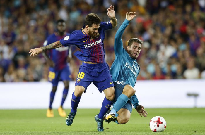 Porażka w pierwszym meczu o Superpuchar HIszpanii