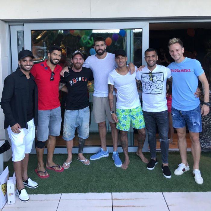 Neymar spotkał się ze swoimi przyjaciółmi z Barçy
