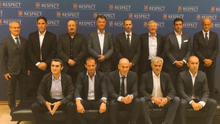 Valverde wziął udział w dorocznym szczycie trenerów