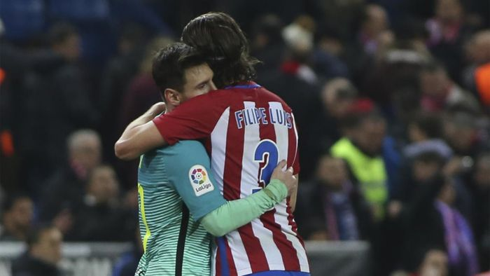 Filipe Luis: Podziwiam Messiego, nigdy nie robił mi wyrzutów