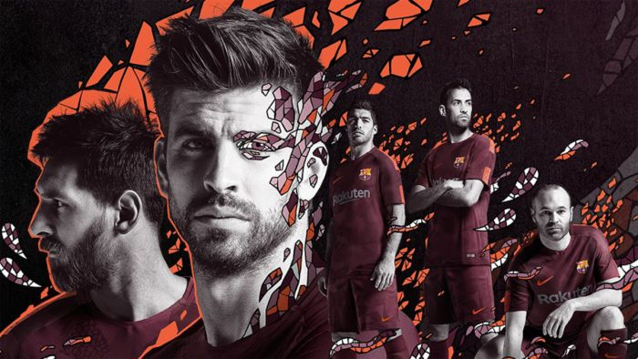 Barcelona zaprezentowała trzeci komplet strojów