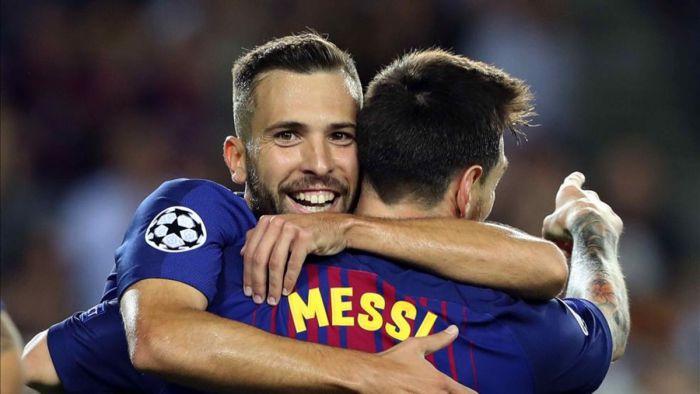 Jordi Alba: Czuję się pewniej niż w poprzednich sezonach