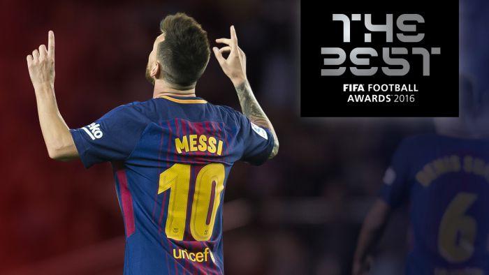 Leo Messi finalistą The Best FIFA Football Awards