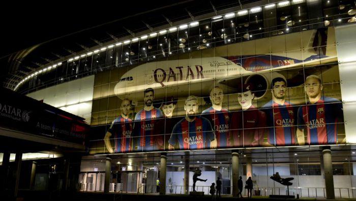 Barcelona zrezygnowała ze współpracy z Qatar Airways