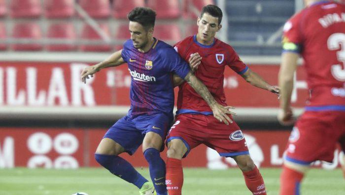 Barça B przegrywa na wyjeździe z Numancią