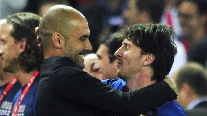 Guardiola: Gdy Messi dostawał piłkę, mogłem się zdrzemnąć