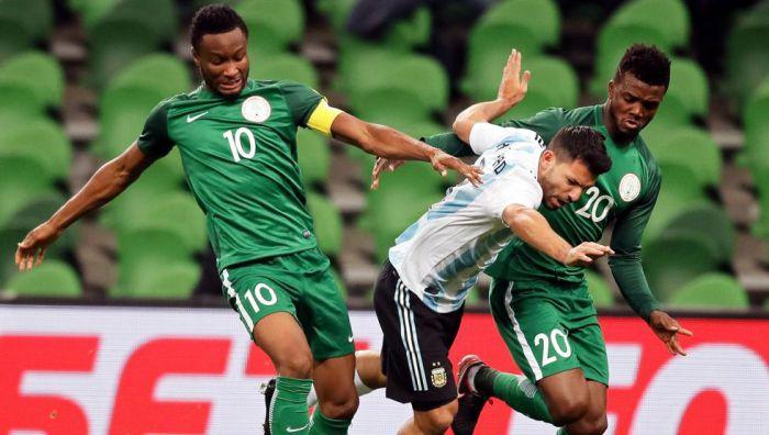 Argentyna przegrywa z Nigerią 2:4 [WIDEO]