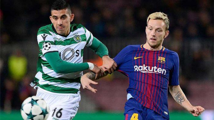 Reakcje piłkarzy Barçy po meczu ze Sportingiem