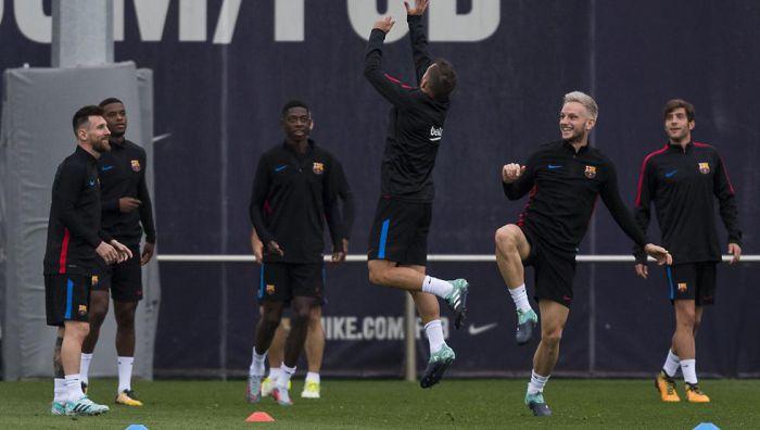 Dembélé wraca do treningów z drużyną