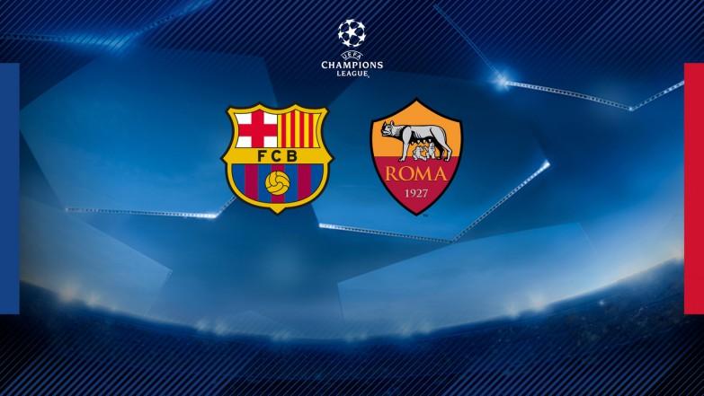 Roma rywalem Barçy w ćwierćfinale Ligi Mistrzów