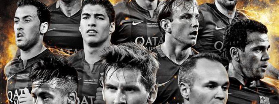 Dziesięciu piłkarzy FC Barcelony nominowanych do jedenastki roku FIFPro