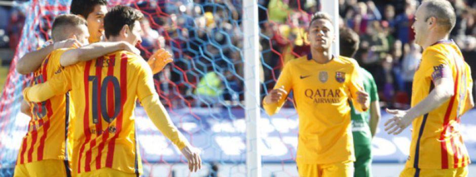 Trzy punkty jadą do Katalonii