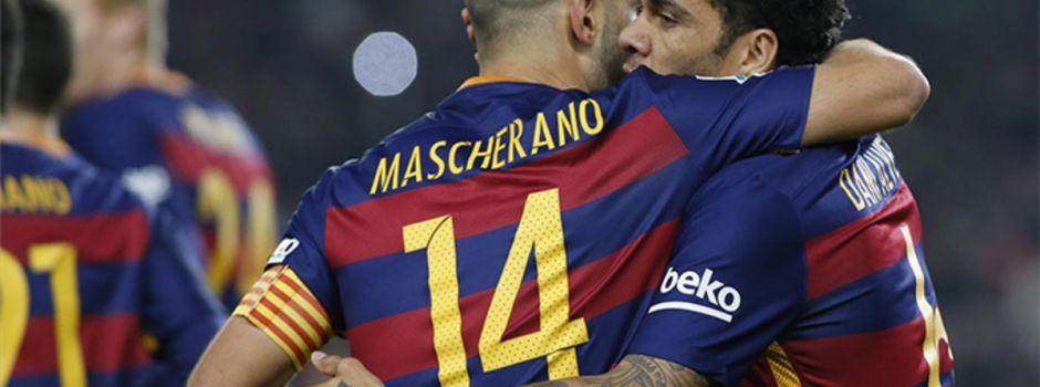 Ankieta: Jak postąpił(a)byś w kwestii przyszłości Mascherano i Alvesa na Camp Nou?