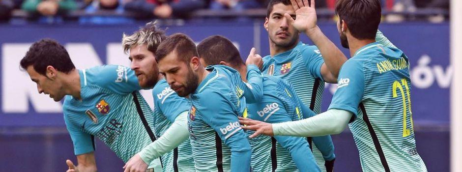 Trzy punkty jadą do Barcelony