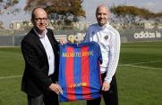 Jordi Cruyff: Obecnie moje przejście do Barcelony jest wykluczone, nie rozmawiałem o tym od zeszłego roku